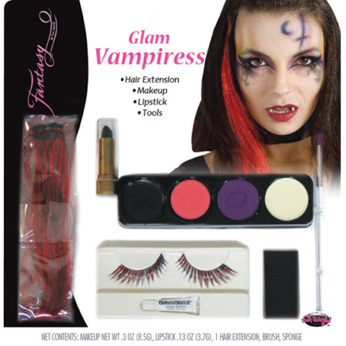 Vampiress Glam Series Halloween Makeup