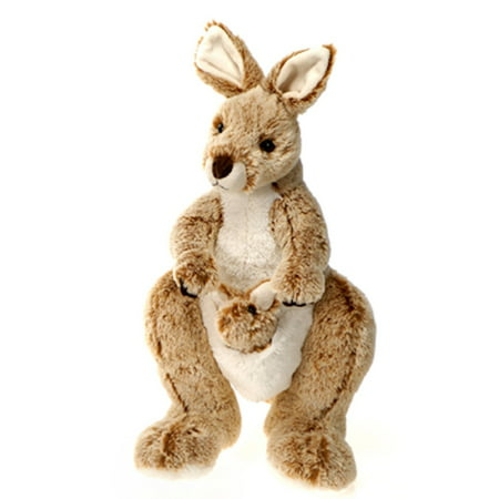 Toy Kangaroo - Fiesta Toys Kangaroo with Baby in Pouch Plush Stuffed Animal. 14