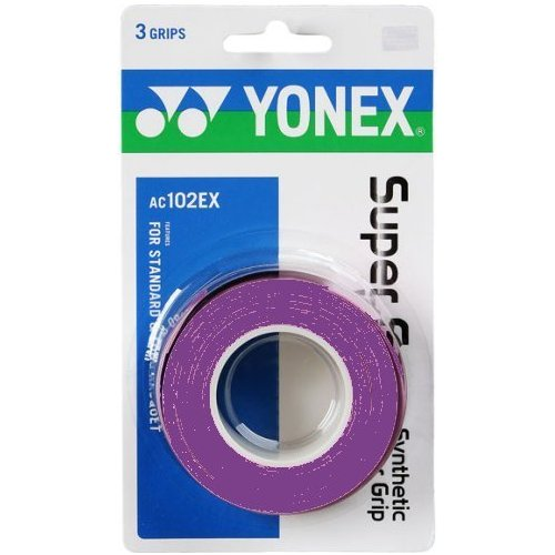Yonex Super Grap Tennis Overgrip 3 pack - Choice of 9 colors