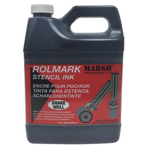MARSH 20903 Stencil Ink, Black