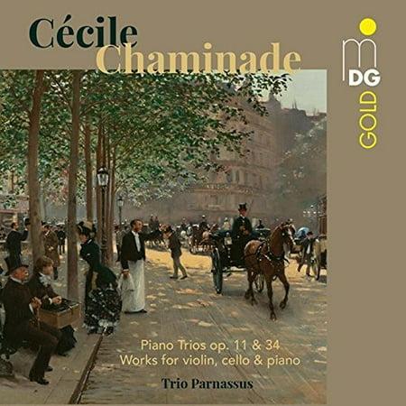 Cecile Chaminade: Piano Trios Op 11 & 34 (CD) (A Drop In The Ocean Piano Music)