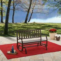 Better Homes and Gardens Farmhouse Metal Glider Bench