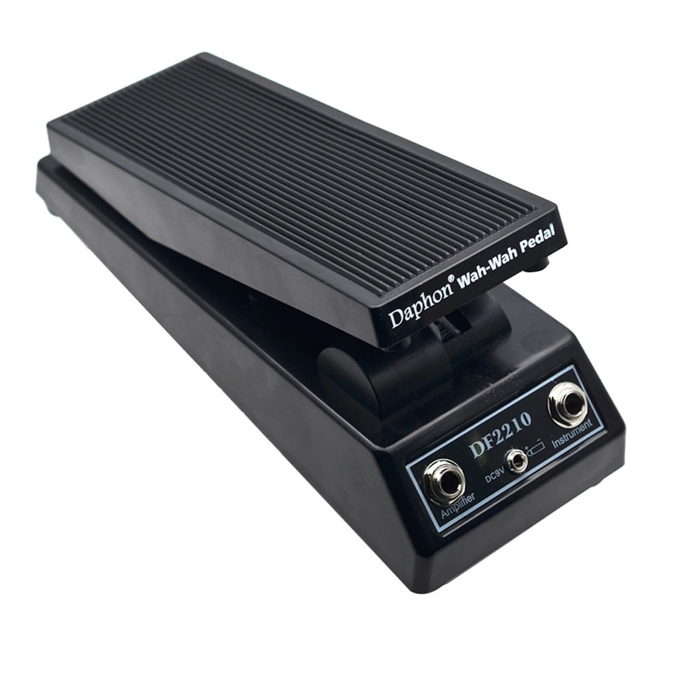 electric guitar tones effect wah wah pedal for electric guitar players dj musical instrument. Black Bedroom Furniture Sets. Home Design Ideas