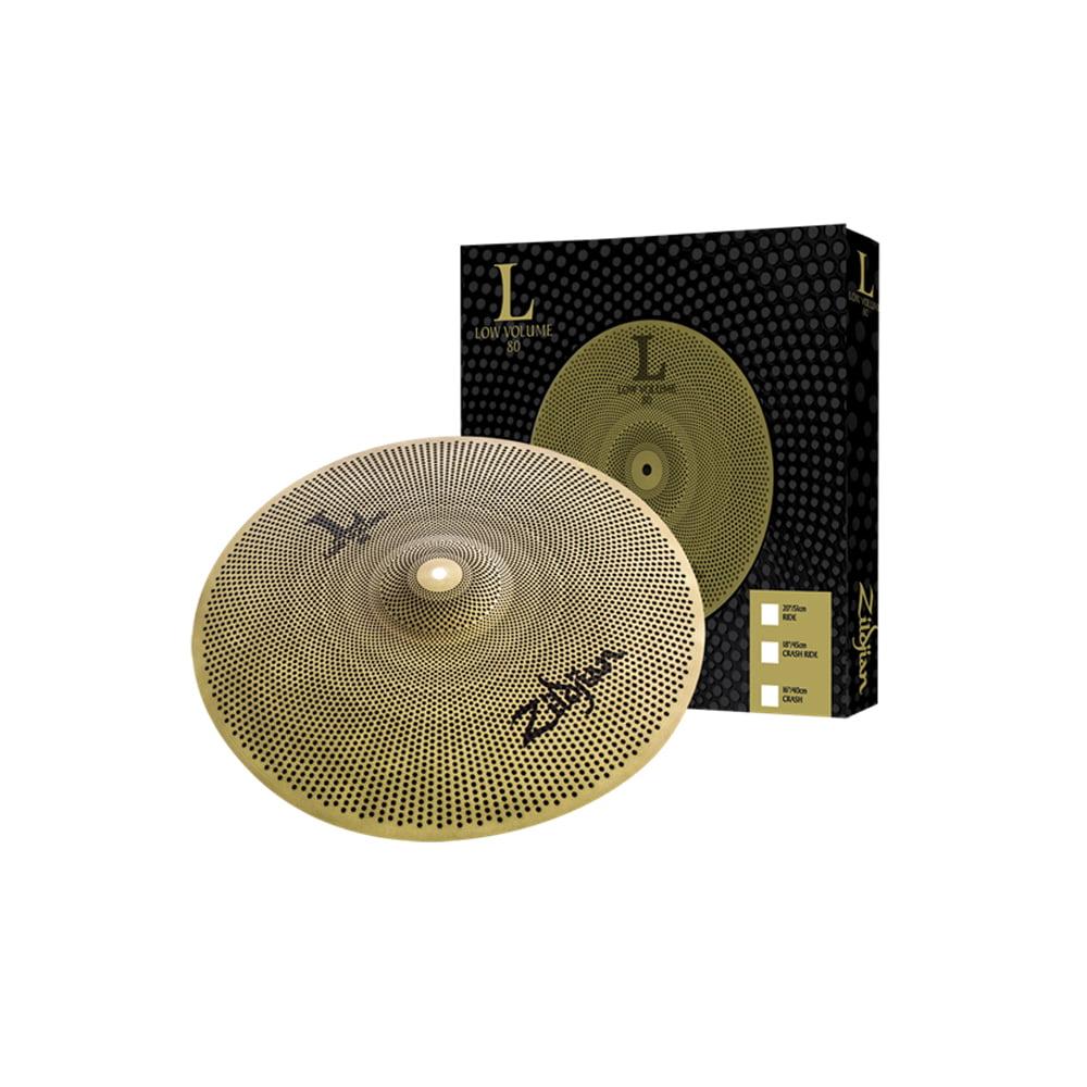 """Zildjian L80 Low Volume 20"""" Ride Cymbal by Zildjian"""