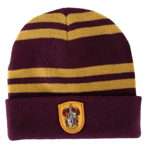 HARRY POTTER Slytherin House Beanie Cap HAT w/ CREST LICENSED Hogwarts