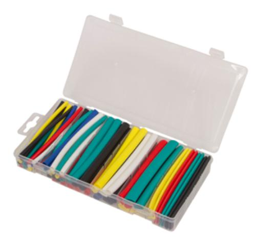 Lisle 27100 60 Piece Adhesive Shrink Tube Assortment by Lisle