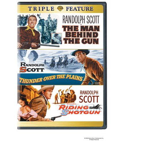 The Man Behind The Gun / Thunder Over The Plains / Riding Shotgun (Full Frame)