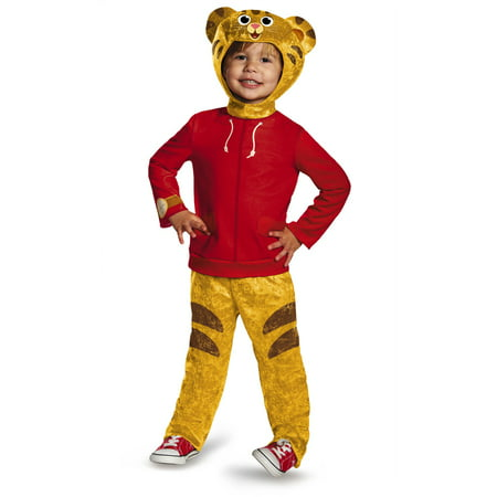 Toddler Daniel Tiger Classic Halloween Costume for $<!---->