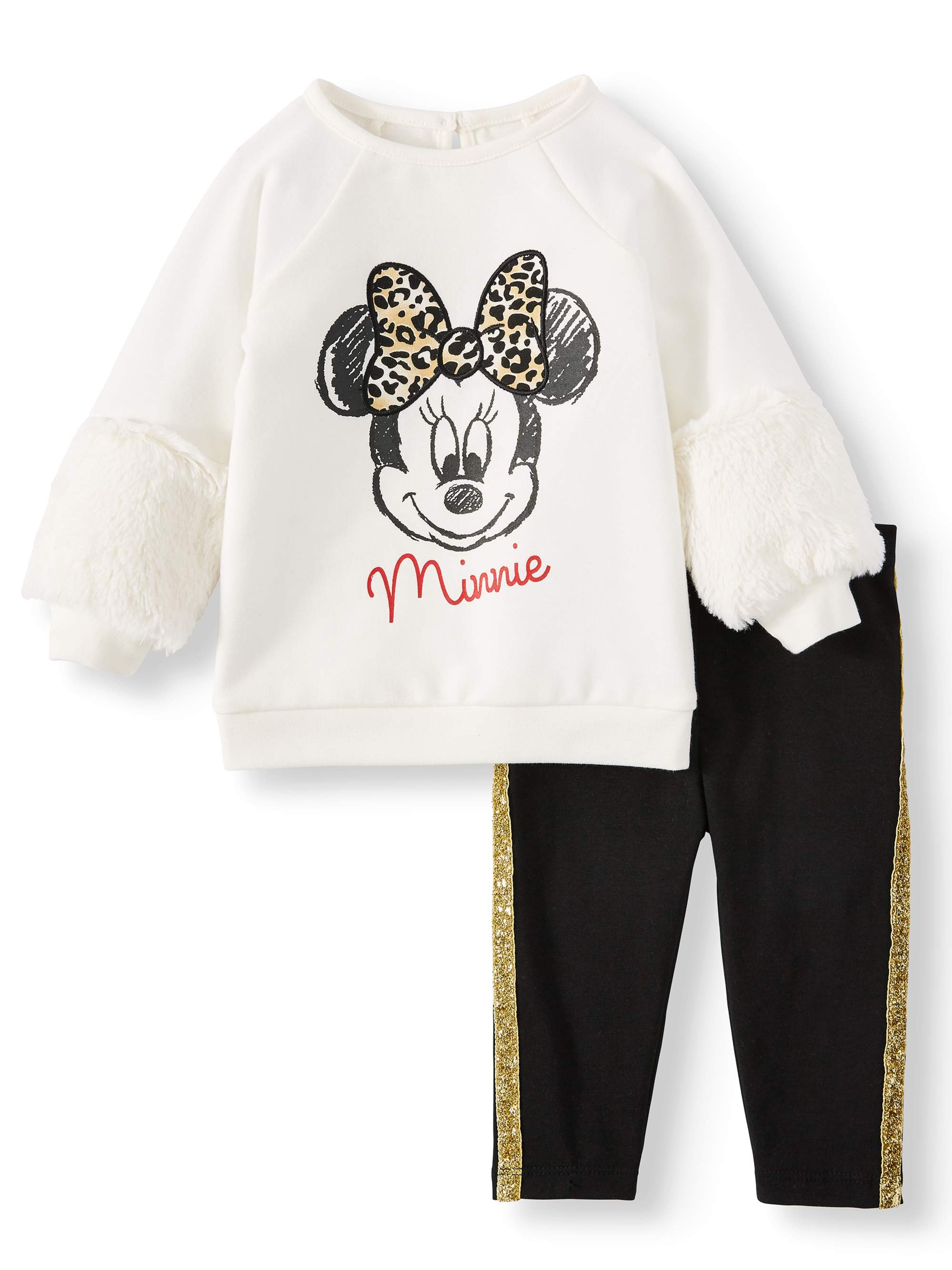 BABY GIRL/'S MINNIE MOUSE LONG SLEEVED TOP