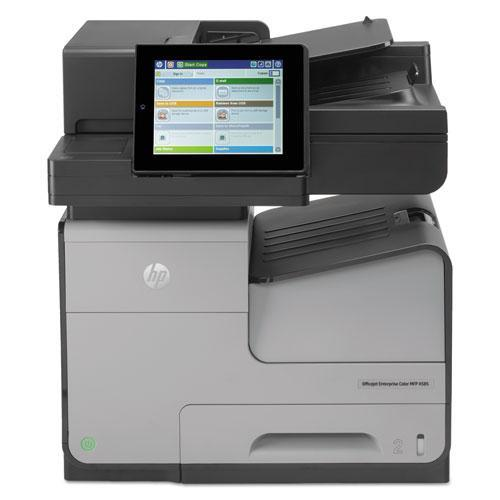 HP B5L05A Officejet Enterprise Color X585f Multifunction Printer, Copy Fax Print Scan by HP
