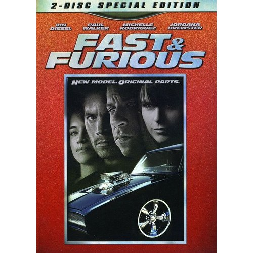 Universal Fast And Furious Dvd Spe An