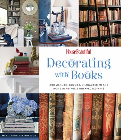 decorating with books house beautiful