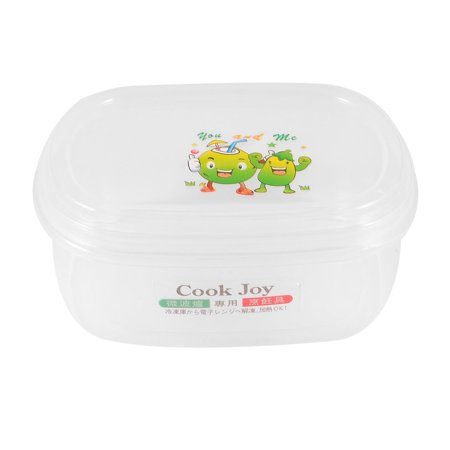 - Unique Bargains Household Cartoon Pattern Rectangle Shape Refreshing Case Container Crisper