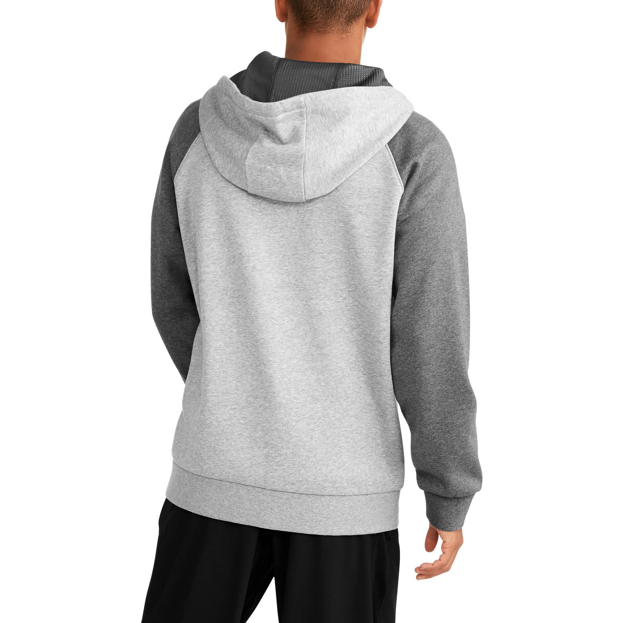 c8268fda508 Russell - Men s Premium Fleece Full-Zip Hoodie - Walmart.com