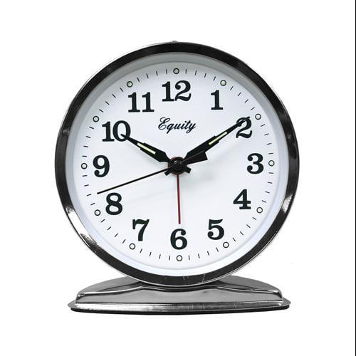Geneva Clock Advance Time Organtick Keywind Alarm Clock