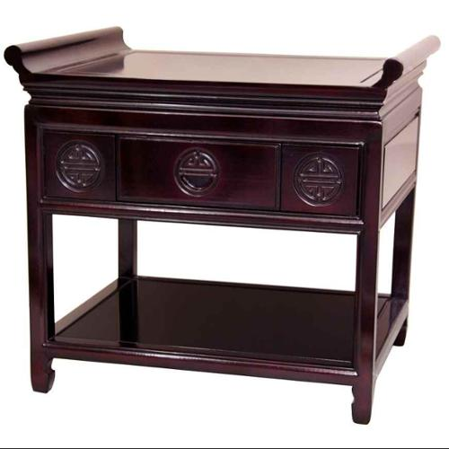 32 in. Rosewood Table (Rosewood)