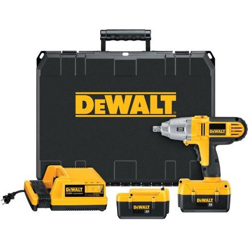 DEWALT DC800KL 36-Volt 1/2-inch Lithium Ion Cordless Impact Wrench Kit with N...