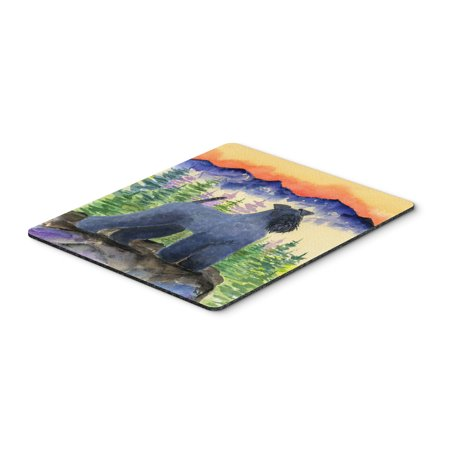 Kerry Blue Terrier Mouse Pad / Hot Pad / Trivet
