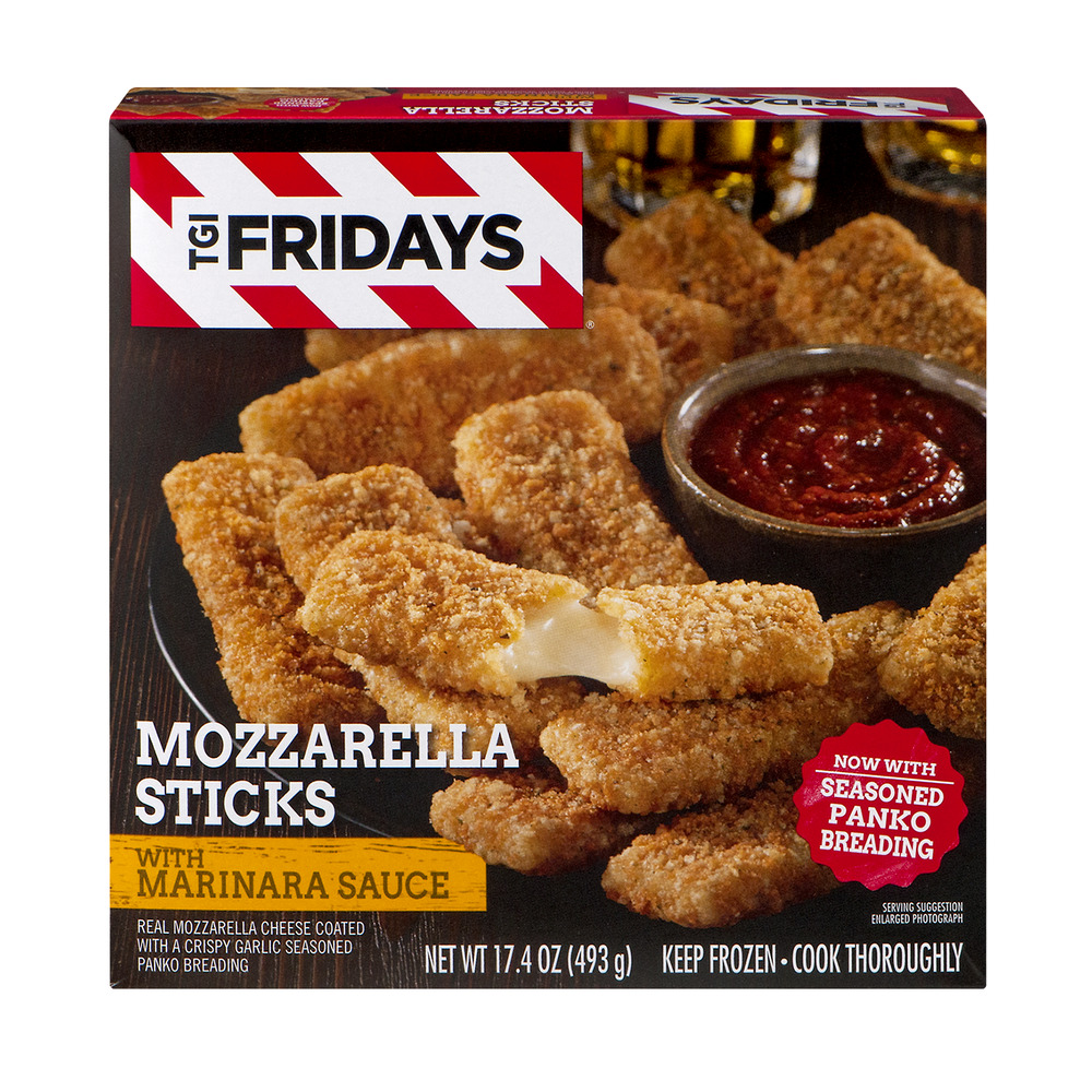how to cook frozen mozza sticks