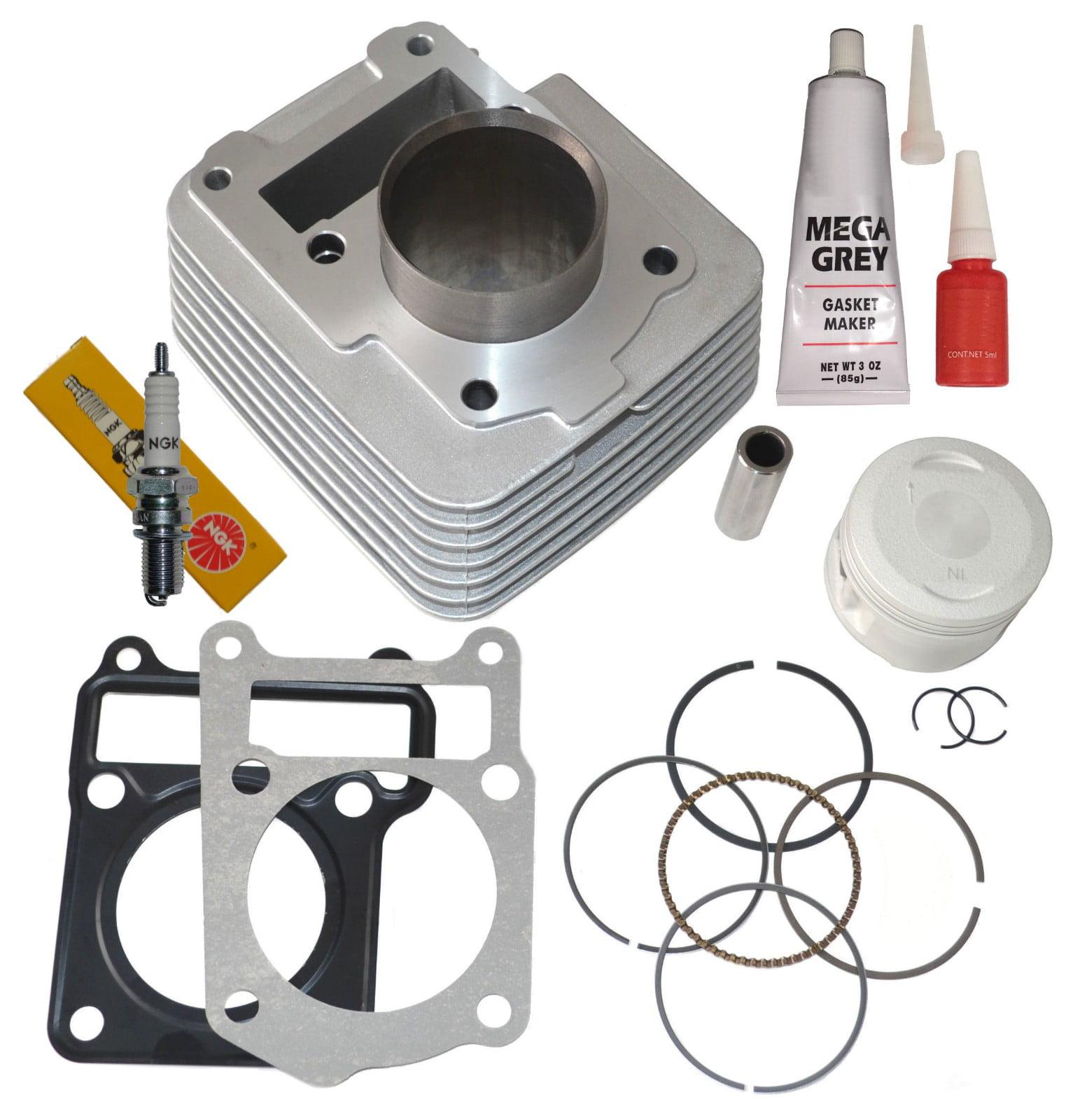 Top Notch Parts Yamaha TTR 125 Cylinder Piston Rings Top End Kit Set ttr125 TTR-125 2000-2005