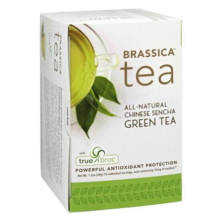 Brassica - All Natural Chinese Sencha Green Tea with truebroc - 16 Tea