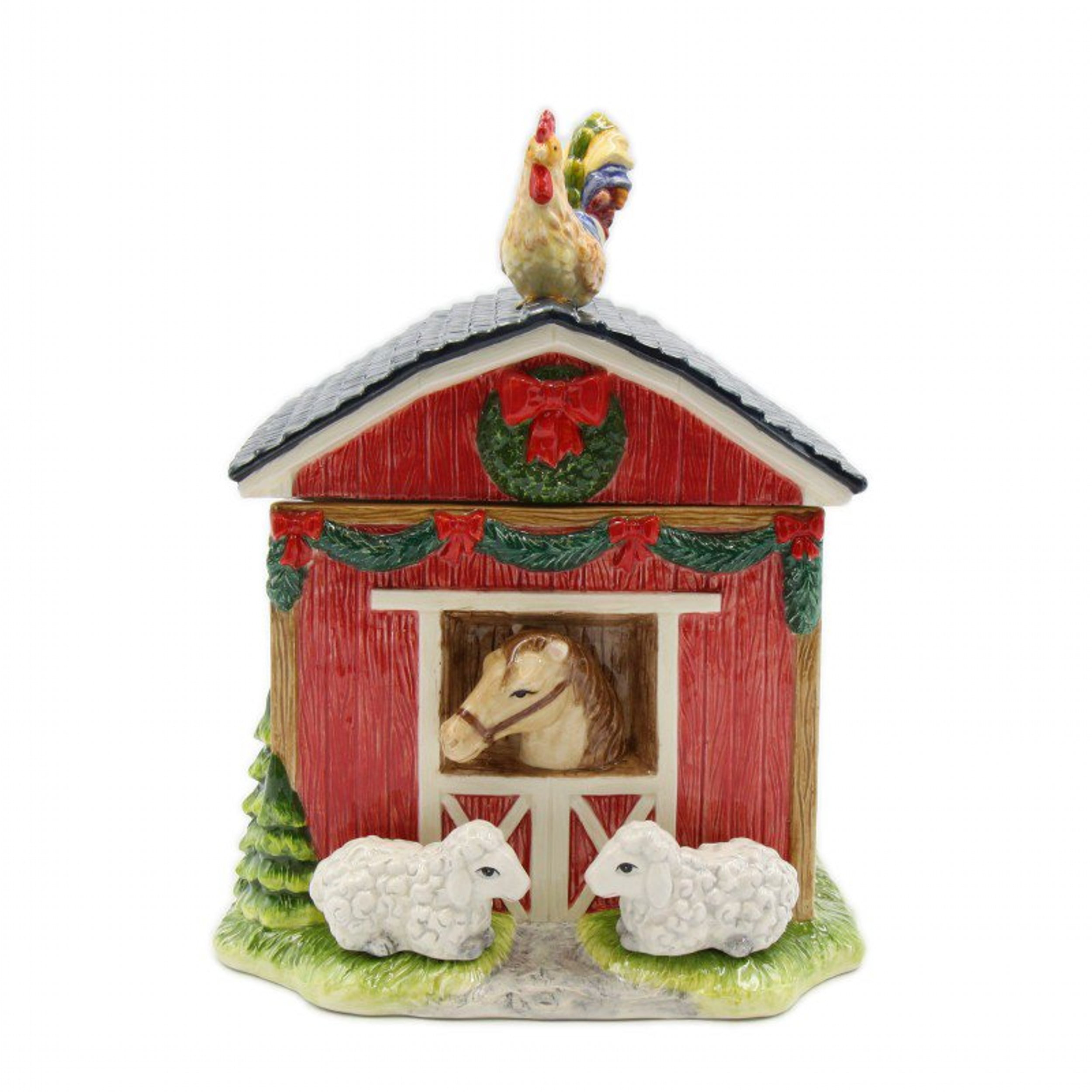 Barn House Cookie Jar by Cosmos Gifts Corp.