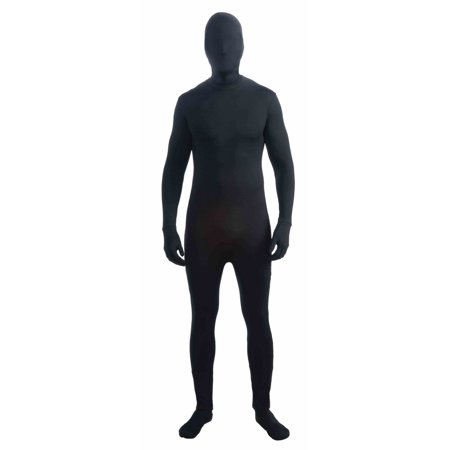 Adult Black Skinsuit Halloween Costume