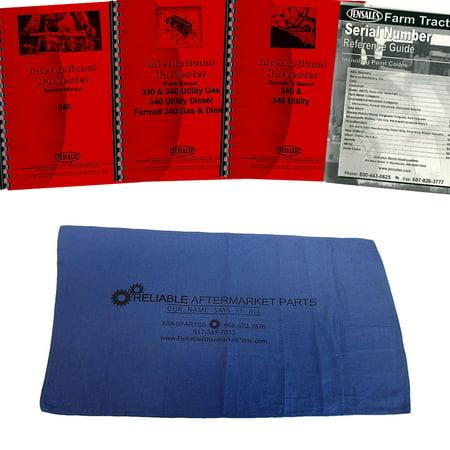 Case International Repair Manual - New Tractor Manual Kit For Case IH International Harvester 330