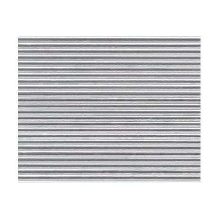 O Gray Ribbed Roof Corrugated Plastic Pattern Sheet 2