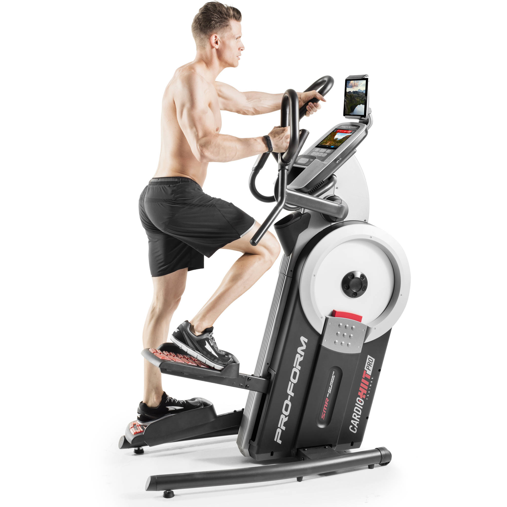 ProForm HIIT Trainer Pro, Hybrid Elliptical and Stepper with FREE 1 Year iFit Membership