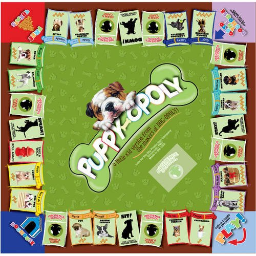 Puppy Opoly Board Game Walmart