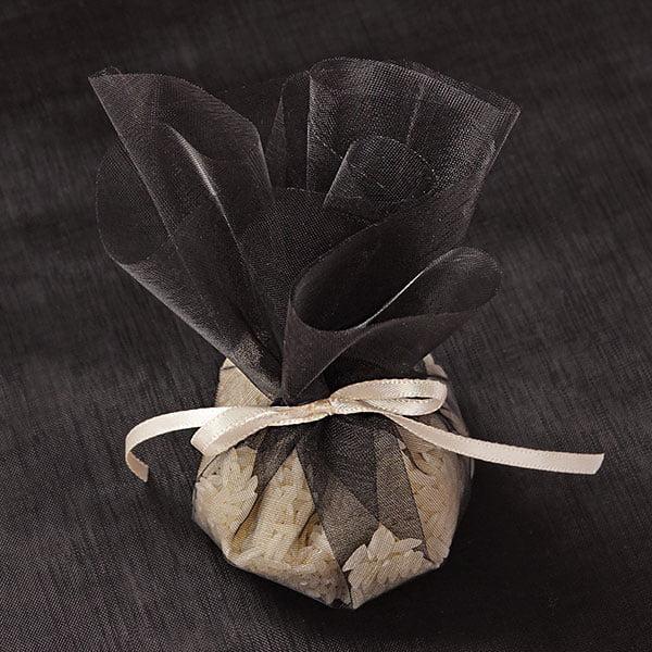 "10"" Black Organza Circle Wrap   Quantity: 12 by Paper Mart"