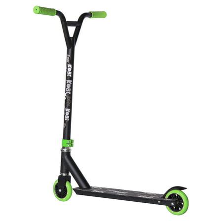 KOBE EDGE Kick Pro Scooter 2 Wheel - Reinforced Steel - Curved T-bar - Teens, Kids 5-yo and above - Green - image 2 de 11
