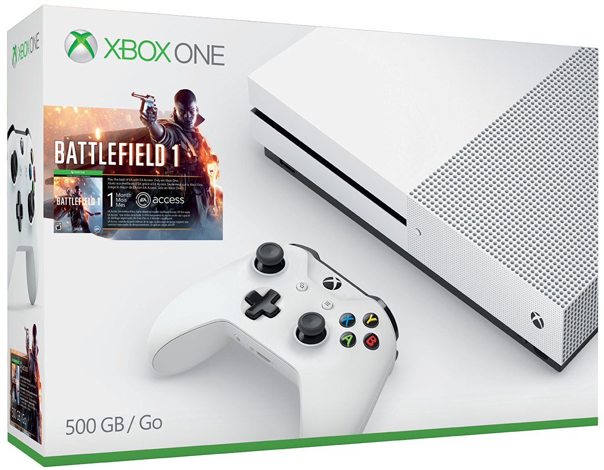 Image result for Xbox One S Battlefield 1 Bundle