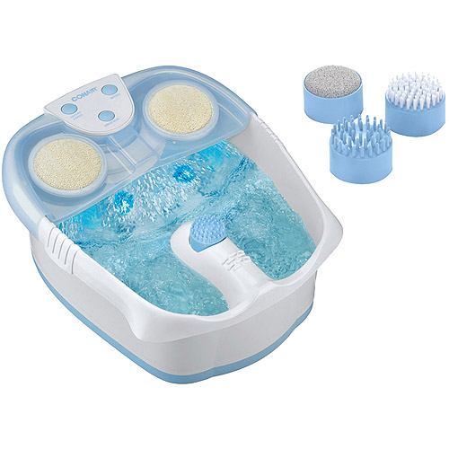 Conair Waterfall Foot Bath with Lights, Bubbles and Heat