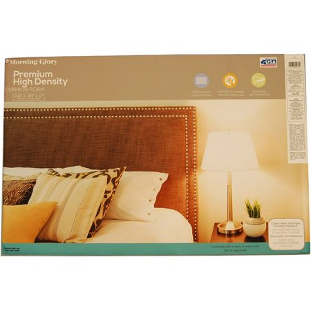 Morning Glory High Density Craft & Cushion Foam, 24