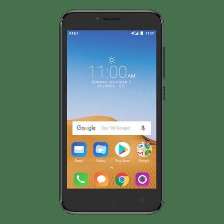 AT&T PREPAID Alcatel TETRA 16GB Prepaid Smartphone,