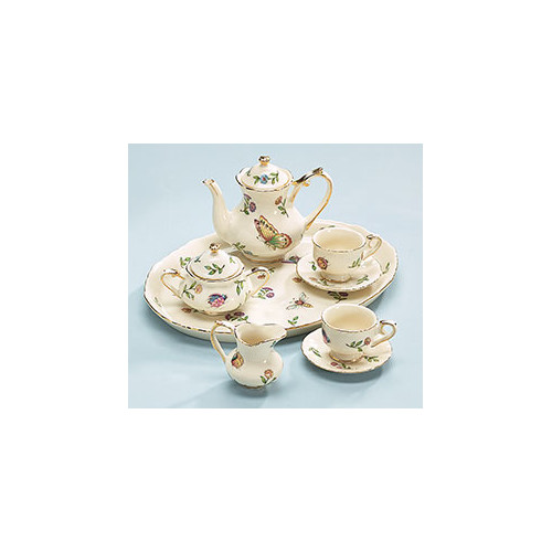 Burton Mini Morning Meadows Tea Set
