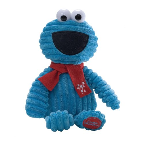 "Gund Sesame Street Holiday Corduroy Cookie Monster 11"" by Gund"