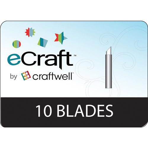 eCraft Replacement Blades, 10/pkg