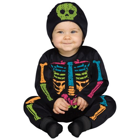 Color Bones Toddler Halloween Costume, Size 2T