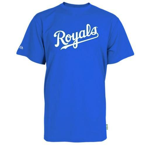 Kansas City Royals Replica Baseball T-shirt 100% Cool Mesh Fabric - Adult