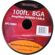 8GA 100' Power Cable