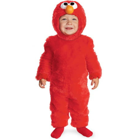 Sesame Street Light Up Elmo Toddler Costume - 3t Elmo Costume