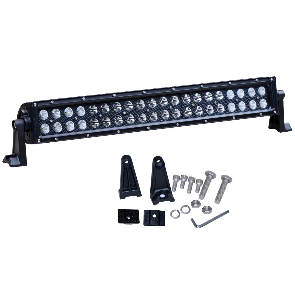 "Nilight 22"" 120w LED Light Bar Flood Spot Combo Driving Lights Fog Lamp off road led lights for SUV ATV Truck 4x4 Boat ,2 Years Warranty"
