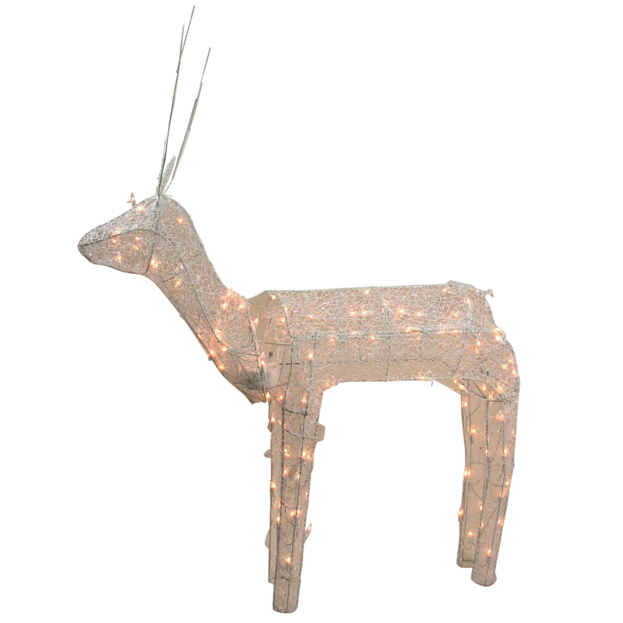 Animated Standing Buck Reindeer Outdoor