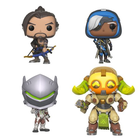 299b536e80a Funko POP! Games Overwatch Series 4 Collectors Set - Hanzo