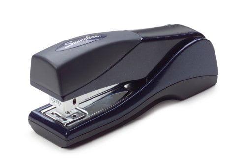 87816 Jam Free Swingline Stapler Silver 25 Sheet Capacity Optima Grip Compact Desktop Stapler