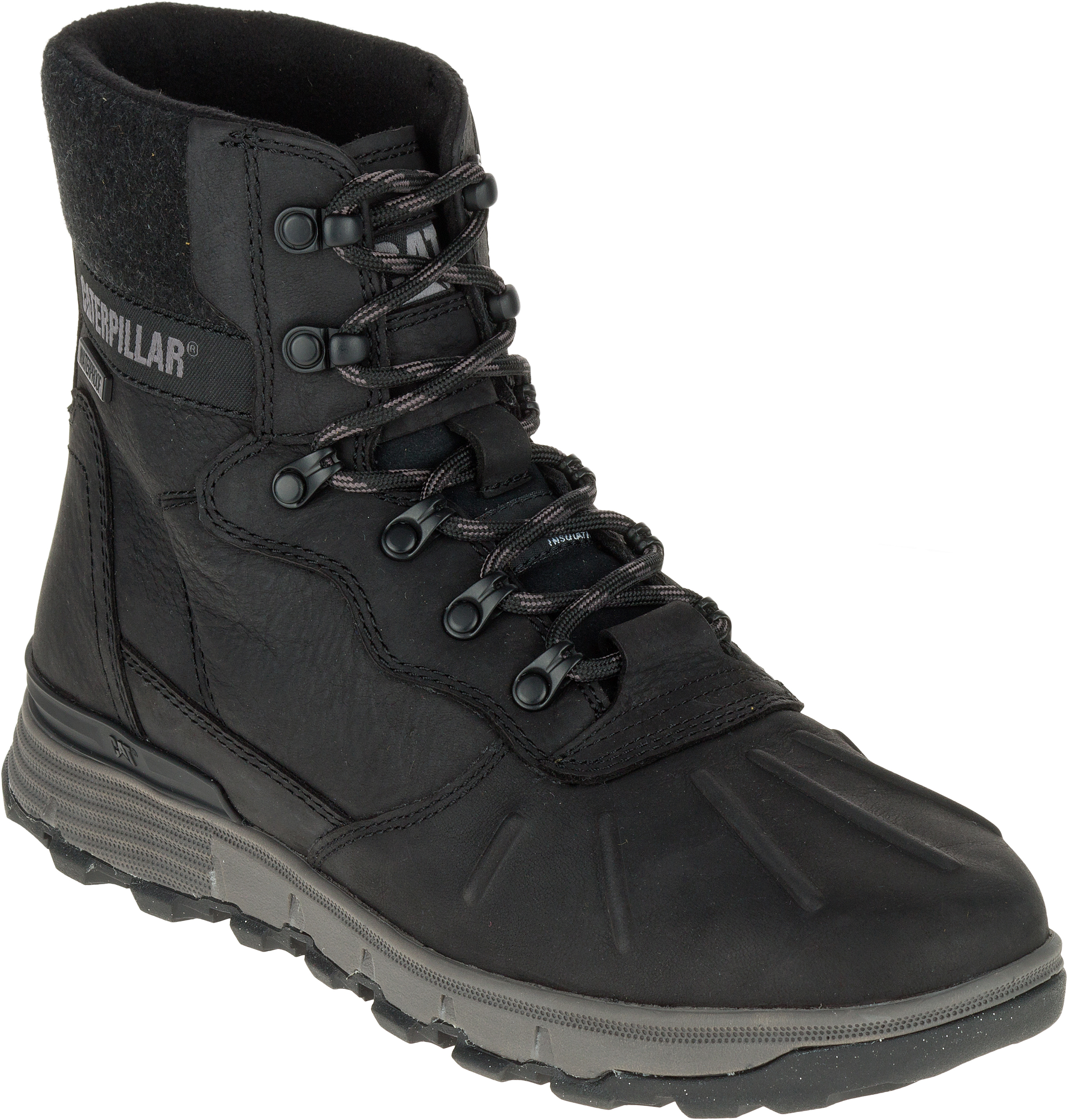Caterpillar Mens Leather Stiction HI WP Ice+ Outdoor Work Boots