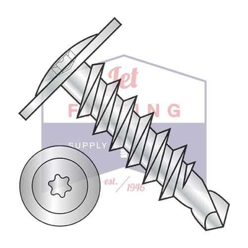 10-16X1/2 Self-Drilling Screws | Six-Lobe (Torx) | Modifi...